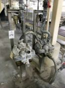(2) Rupp Diaphragm Pumps