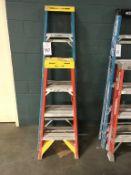 (2) Werner Fiberglass Ladders