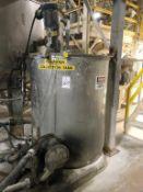 500-Gallon SS Vertical Tank