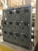 (4) Bank Allen Bradley Center Line Motor Control Center