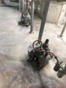 (4) Assorted Rupp Diaphragm Pumps