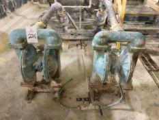 (2) Beckart Environmental 600-300-000 Diaphragm Pumps
