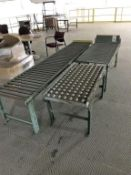 (3) Sections Assorted Roller Conveyor
