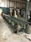 (3) Sections Power Belt Conveyor