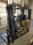 Caterpillar M50DSA 5,000-Lb Electric Forklift