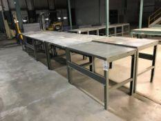 (5) Metal Table