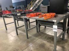 (4) Metal Table