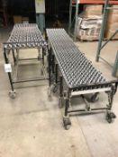 (2) Sections Best Flex Roller Conveyor