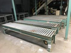 (4) Sections Assorted Roller Conveyor