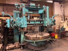 """King 72"""" Vertical Boring Mill, S/N 1357, 40hp"""