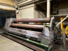 """Roundo PS-360 14' x 5/8"""" Three-Roll Plate Bending Roll, 1985"""