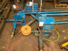 Lot of (3) Miller Welding Extension Booms