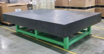 "118"" x 79"" x 12"" Granite Surface Plate"