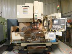 Okuma MC-40VA 4-Axis CNC Vertical Machining Center, S/N 732, 1997