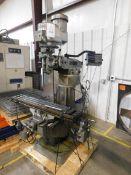 Bridgeport Series I 2hp Variable Speed Vertical Milling Machine, S/N 237362