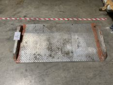 "60"" x 30"" Aluminum Dock Plate"
