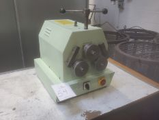 """Promacut RBN3-20M 3/4"""" x 3/4"""" x 1/8"""" Power 3-Roll Angle Roller, S/N 7D2006"""