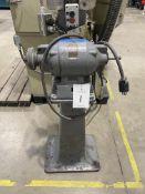 Double End Pedestal Bench Grinder, 1 hp