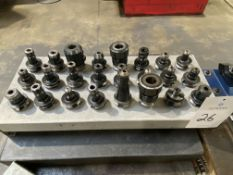Lot of (24) BT 35 Tool Holders