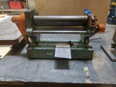 """Di-Acro 12"""" Manual Initial Pinch Roller"""