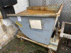 1 Cu. Yard Self Dumping Scrap Hopper