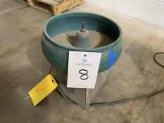 """12"""" Batch Type Vibratory Bowl Finishing Machine"""