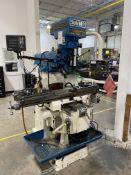 Summit EVS-550 5hp 3-Speed Vertical Milling Machine, S/N 5102