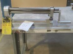 """Accu Cutter 12"""" Manual Initial Pinch Roller"""