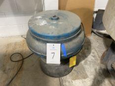 """20"""" Batch Type Vibratory Bowl Finishing Machine"""