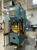 Pacific Pressformer PF150-II 150-Ton Hydraulic C-Frame Press, S/N 6842