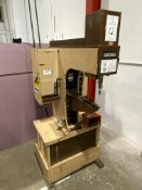 "Haeger HP-6-C 6-Ton x 18"" Hydraulic Hardware Insertion Press, S/N 1789"