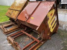 2 Cu. Yard Self Dumping Scrap Hopper