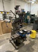 Bridgeport 2hp Variable Speed Vertical Milling Machine, S/N 254149