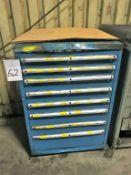 Wilson Tool 8-Drawer Tool Cabinet
