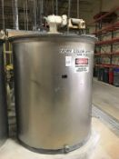 Bendel 1000-Gallon SS Vertical Tank