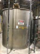 Industrial Air 2200-Gallon SS Vertical Tank
