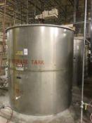 Industrial Air 2500-Gallon SS Vertical Tank