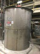 Bendel 1800-Gallon SS Vertical Tank