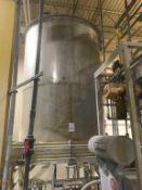 2000-Gallon SS Vertical Tank