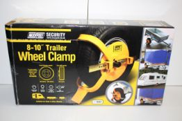"""BOXED MAYPOLE SECURITY 8-10"""" TRAILOR WHEEL CLAMP RRP £29.99Condition ReportAppraisal Available on"""