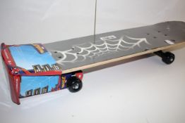 BOXED MARVEL SPIDERMAN SKATEBOARD RRP £32.99Condition ReportAppraisal Available on Request- All