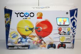 BOXED YCOO ON THE GO BALLOON PUNCHER RRP £24.99Condition ReportAppraisal Available on Request- All