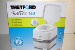 BOXED THETFORD PORTA POTTI 165 PORTABLE TOILET RRP £109.94Condition ReportAppraisal Available on
