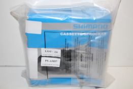 BOXED SHIMANO CASSETTE SPROCKET RRP £22.99Condition ReportAppraisal Available on Request- All