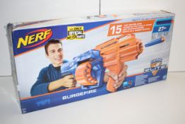 BOXED NERF SURGEFIRE N-STRIKE ELITE GUN RRP £24.89Condition ReportAppraisal Available on Request-