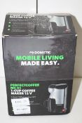 BOXED DOMETIC PERFECT COFFEE MC01 1-CUP COFFEE MAKER 12V RRP £27.39Condition ReportAppraisal