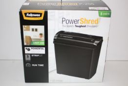 BOXED FELLOWES POWERSHRED P-25S SHREDDER RRP £34.18Condition ReportAppraisal Available on Request-