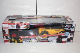 BOXED LASETR BATTLE HUNTERS SHADOW VS REAPER RADIO CONTROL AUTONIMOUS VEHICLES RRP £19.99Condition