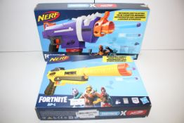 2X BOXED NERF FORTNITE GUNS COMBINED RRP £62.00Condition ReportAppraisal Available on Request- All