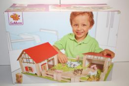 BOXED EICHHORN WOODEN FARM TOY RRP £29.99Condition ReportAppraisal Available on Request- All Items